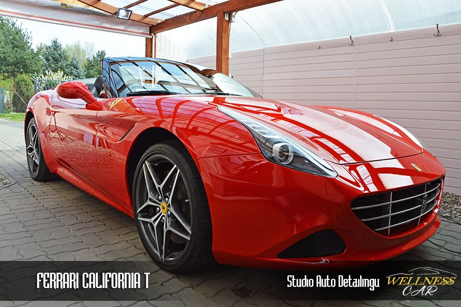 Ferrari California z Ceramic Pro Strong 9H